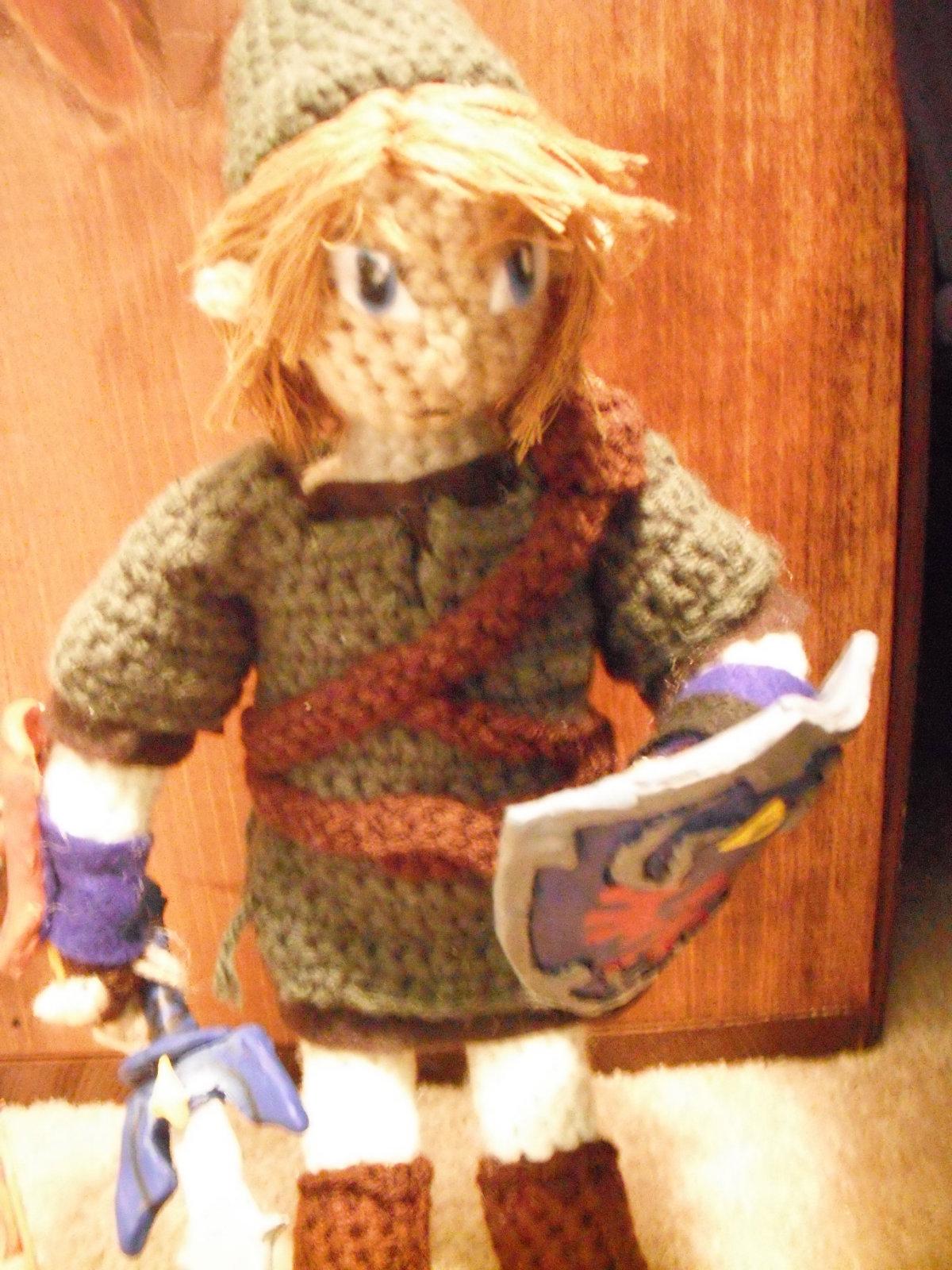 Link Amigurumi Doll Plush from Legend of Zelda (Crochet Pattern ... | 1600x1200