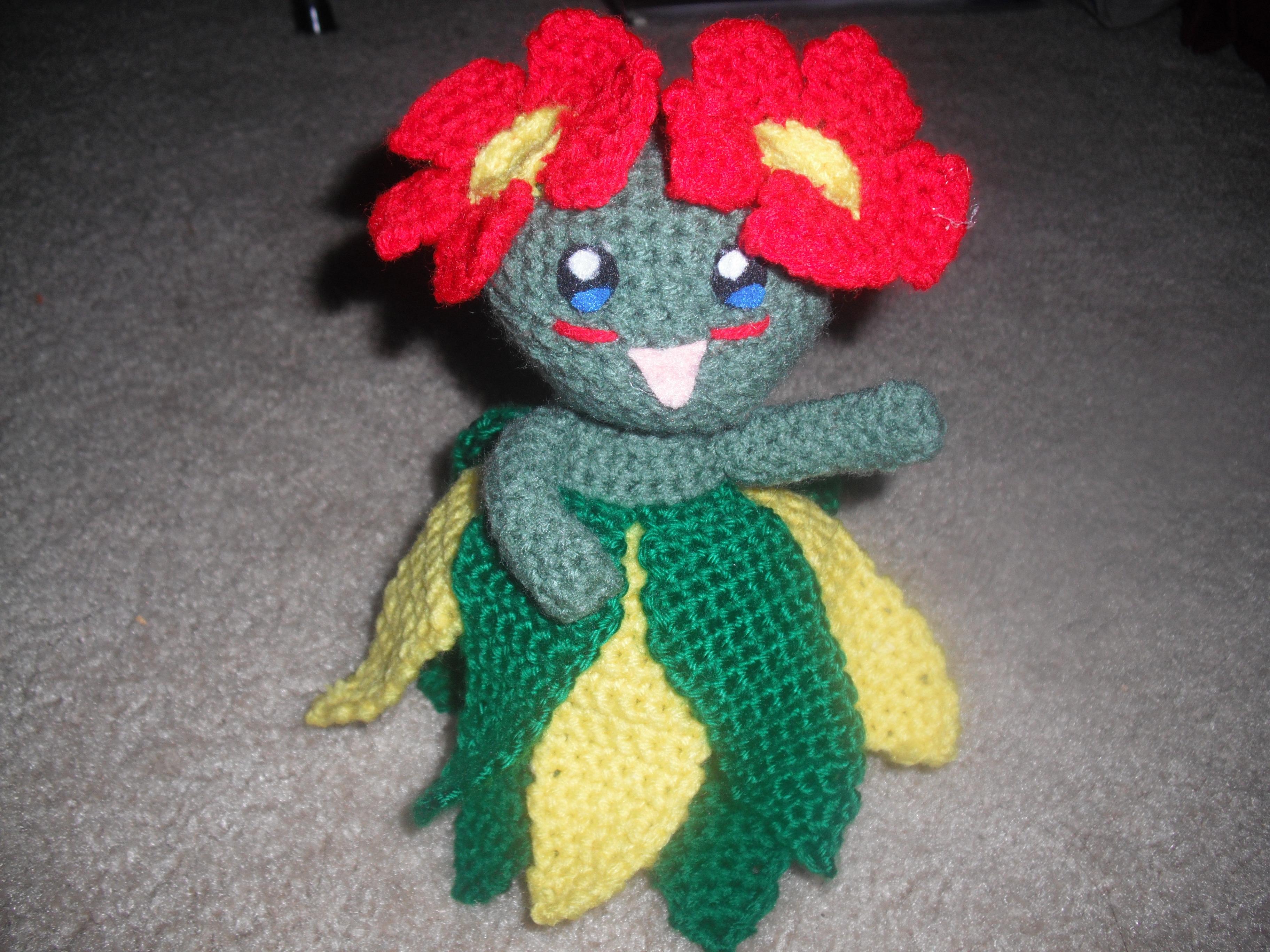 Crochet Patterns For Pokemon : Bellossom AH! Creations